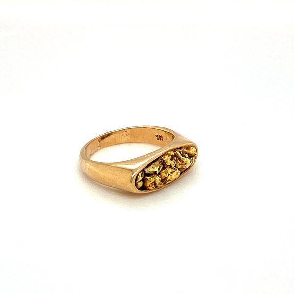Estate Gold Nugget Ring Image 2 Toner Jewelers Overland Park, KS