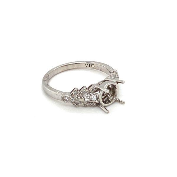 Engagement Ring Mount Setting Image 3 Toner Jewelers Overland Park, KS
