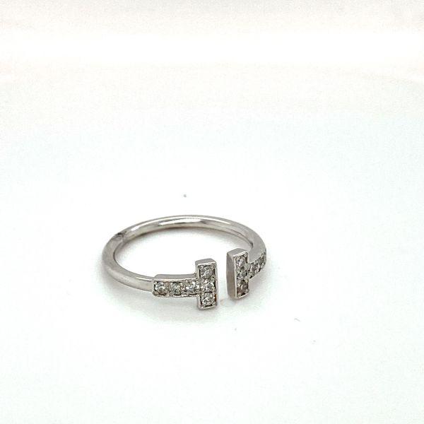 Diamond T Ring Image 2 Toner Jewelers Overland Park, KS