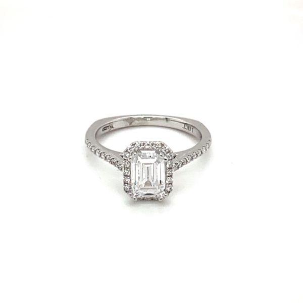 White Gold Diamond Engagement Ring Mount Toner Jewelers Overland Park, KS