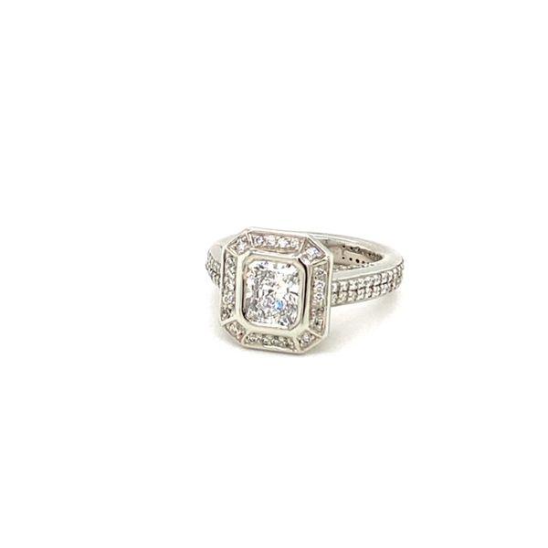 Estate Diamond Engagement Ring  Image 2 Toner Jewelers Overland Park, KS