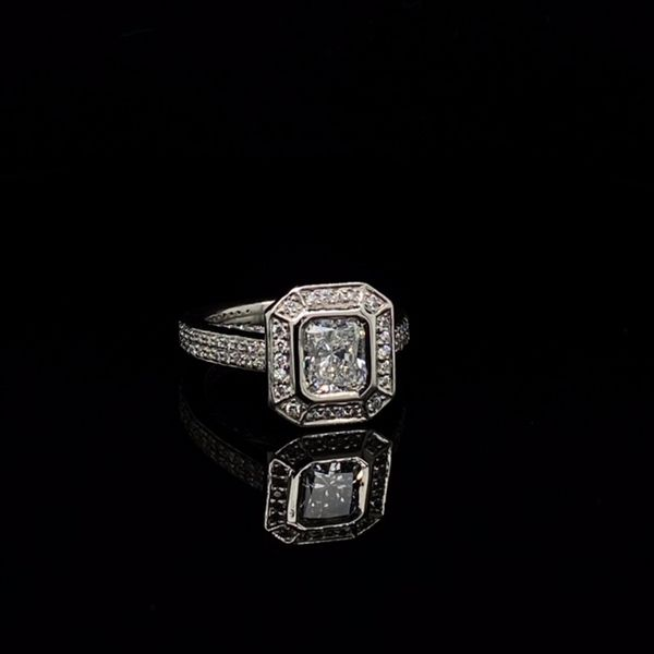 Estate Diamond Engagement Ring  Image 4 Toner Jewelers Overland Park, KS