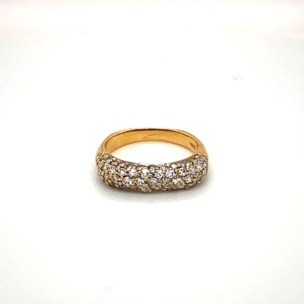 18K Gold Estate Diamond Ring Toner Jewelers Overland Park, KS