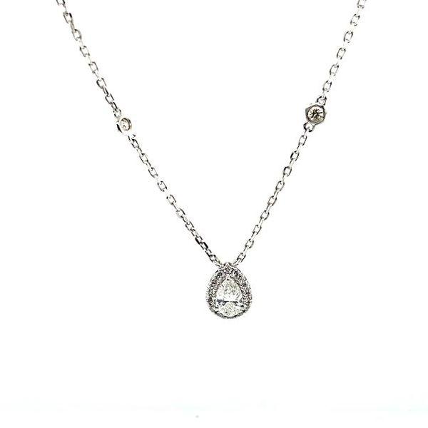 Pear Diamond Necklace Toner Jewelers Overland Park, KS