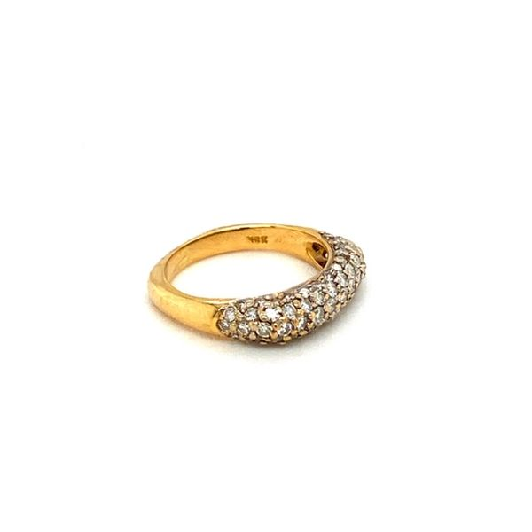 18K Gold Estate Diamond Ring Image 3 Toner Jewelers Overland Park, KS