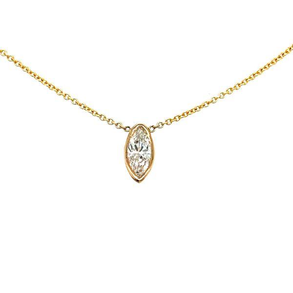 Marquise Diamond Pendant Toner Jewelers Overland Park, KS