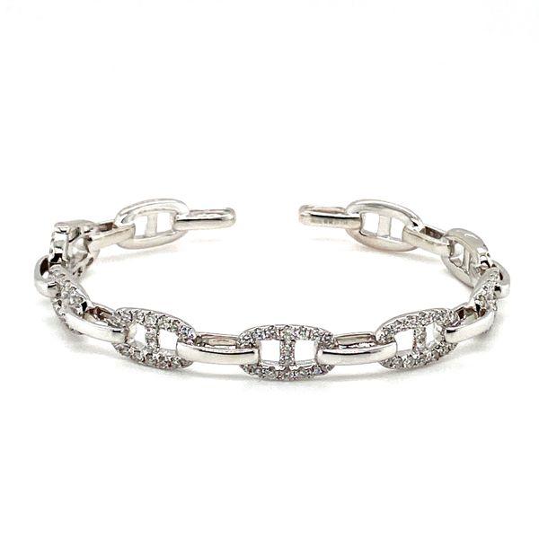 Diamond Gucci Link Bangle Toner Jewelers Overland Park, KS