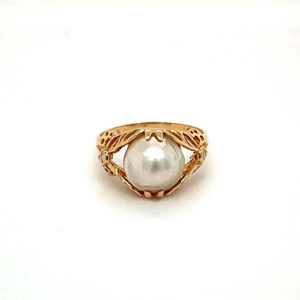 Estate Pearl Ring Image 2 Toner Jewelers Overland Park, KS