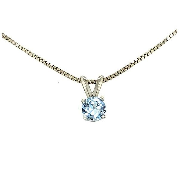 Estate Aquamarine Necklace Pendant Toner Jewelers Overland Park, KS