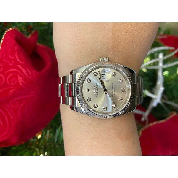 Rolex Datejust Toner Jewelers Overland Park, KS
