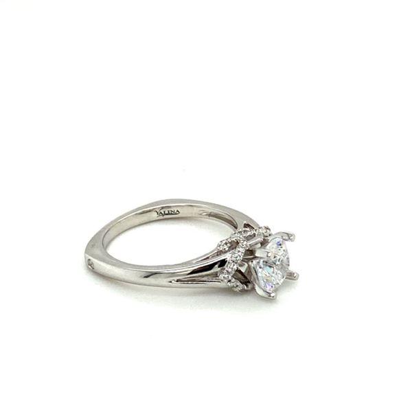 White Gold Diamond Engagement Ring Setting Image 3 Toner Jewelers Overland Park, KS
