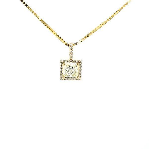 Princess Diamond Necklace  Toner Jewelers Overland Park, KS