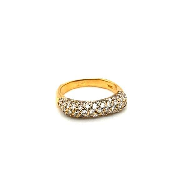 18K Gold Estate Diamond Ring Image 2 Toner Jewelers Overland Park, KS