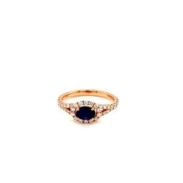 Sapphire Diamond Ring Toner Jewelers Overland Park, KS