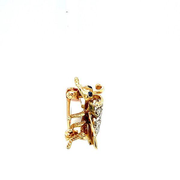 Estate Diamond Bee Brooch Image 4 Toner Jewelers Overland Park, KS