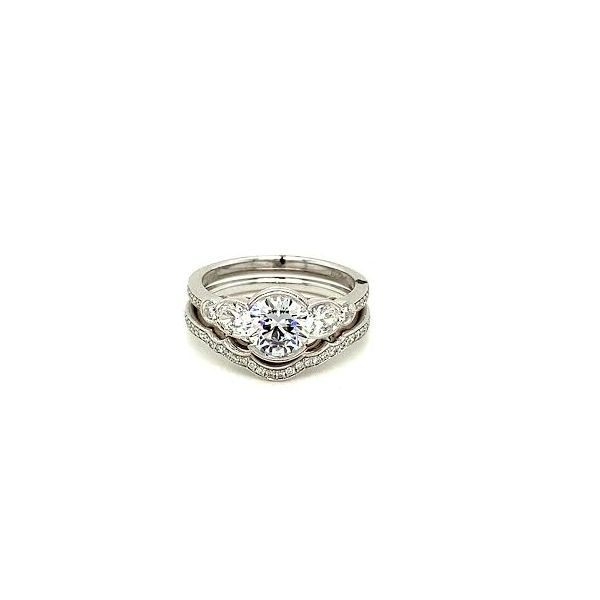 Simon G. Diamond Ring Set Toner Jewelers Overland Park, KS