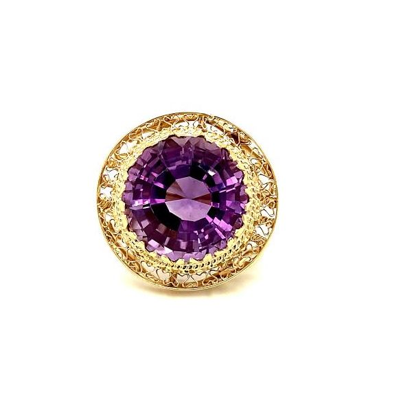 Estate Amethyst Ring  Toner Jewelers Overland Park, KS