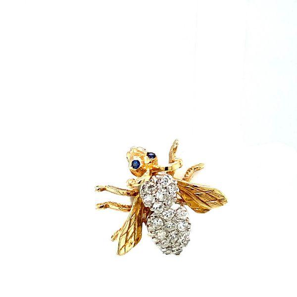 Estate Diamond Bee Brooch Toner Jewelers Overland Park, KS