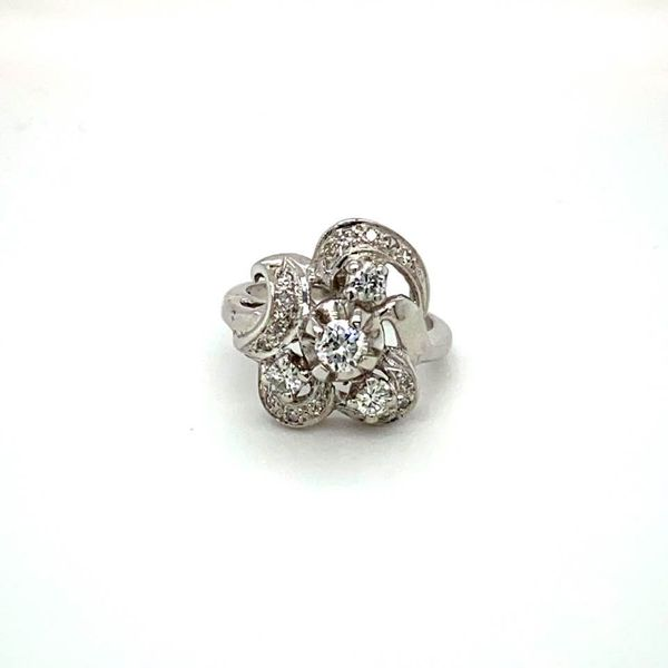 Vintage Estate Diamond Ring Toner Jewelers Overland Park, KS