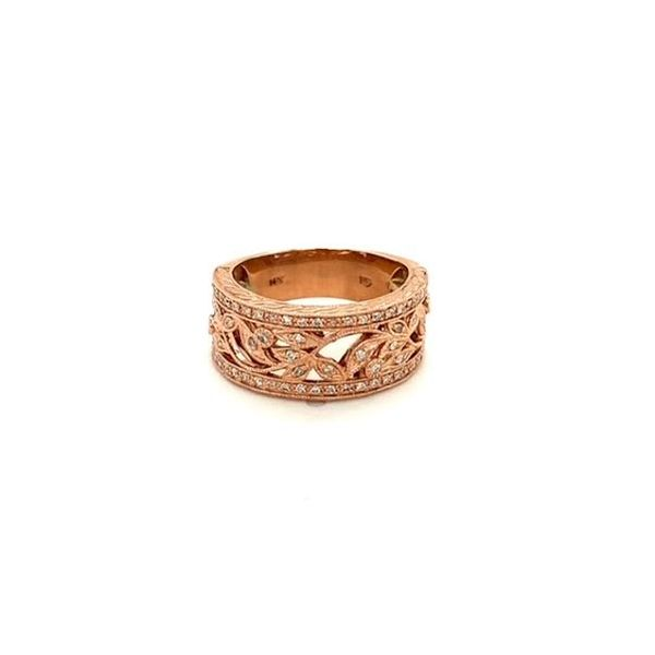 Estate Rose Gold Diamond Ring  Toner Jewelers Overland Park, KS