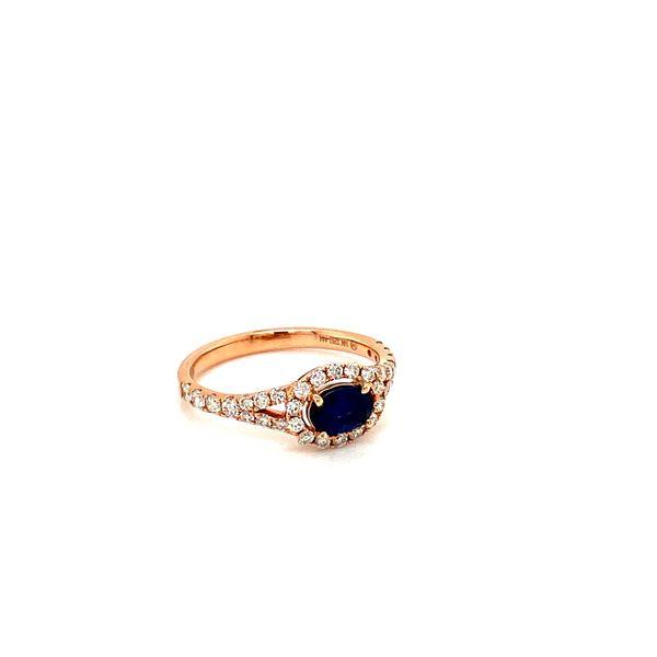 Sapphire Diamond Ring Image 2 Toner Jewelers Overland Park, KS