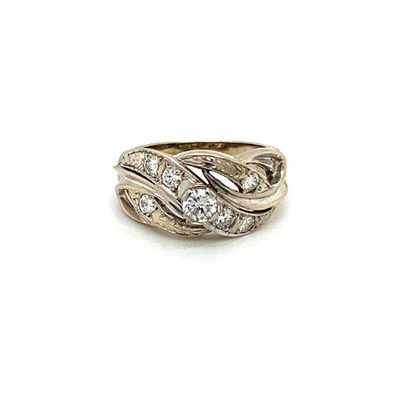 Diamond Estate Scrollwork Ring Toner Jewelers Overland Park, KS