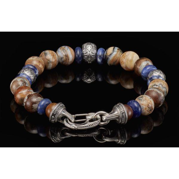Woolly Mammoth Men's Bead Bracelet Image 2 Toner Jewelers Overland Park, KS