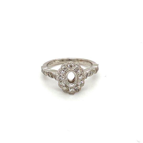 Charming Vintage Engagement Ring Setting Toner Jewelers Overland Park, KS