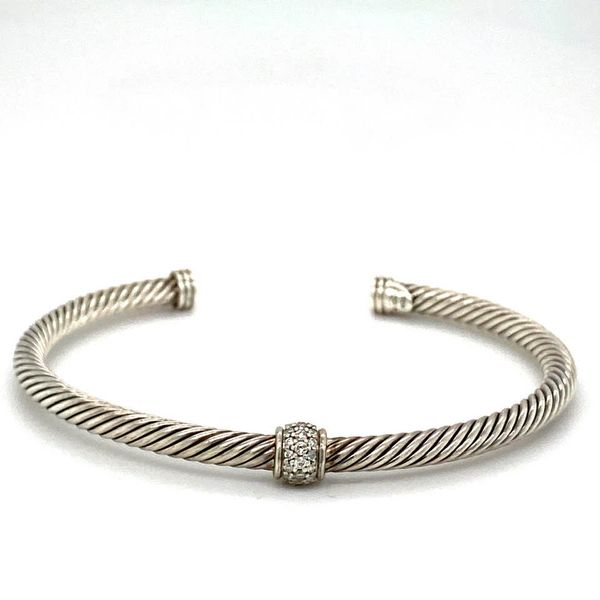 Estate David Yurman Diamond Bracelet Toner Jewelers Overland Park, KS