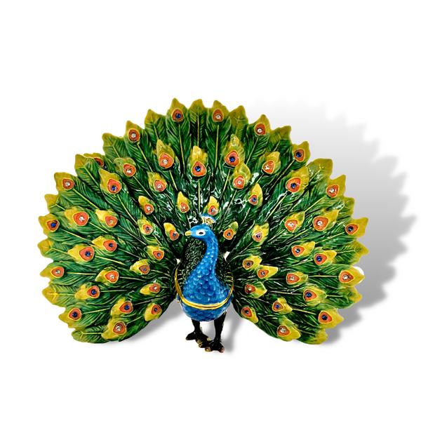 Queen Sheba The Peacock Trinket Box Image 2 Vandenbergs Fine Jewellery Winnipeg, MB