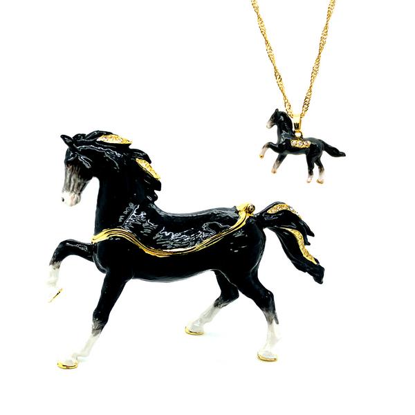 Black Stallion Trinket Box Vandenbergs Fine Jewellery Winnipeg, MB