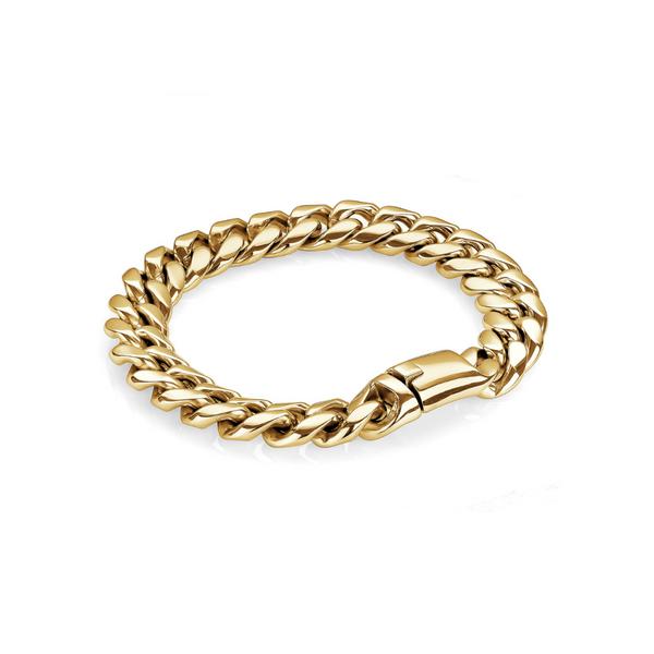Yellow Cuban Link Bracelet Vandenbergs Fine Jewellery Winnipeg, MB