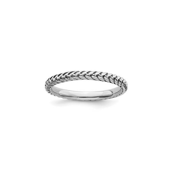 Sterling Silver Stackable Antiqued Ring Vandenbergs Fine Jewellery Winnipeg, MB