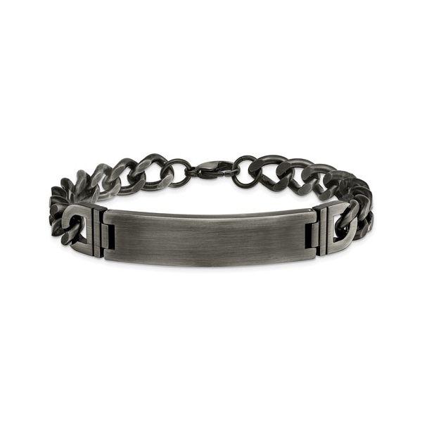 Stainless Steel ID Bracelet Vandenbergs Fine Jewellery Winnipeg, MB