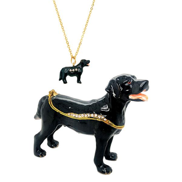 Expresso the Labrador Trinket Box Vandenbergs Fine Jewellery Winnipeg, MB