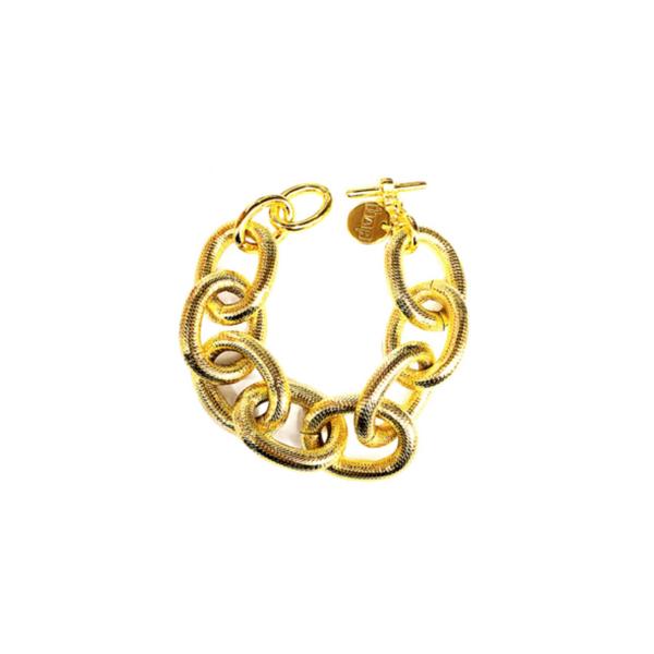Gold Chain Bracelet Vandenbergs Fine Jewellery Winnipeg, MB