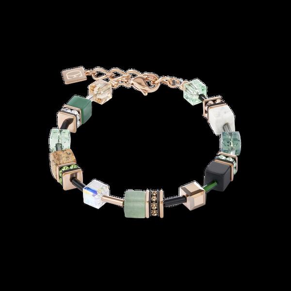 Green Swarovski GeoCube Bracelet Vandenbergs Fine Jewellery Winnipeg, MB