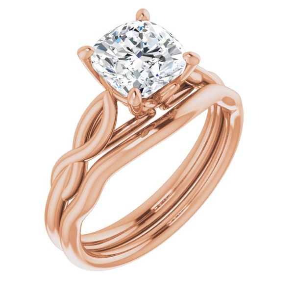 Cushion Solitaire Engagement Ring Mounting Image 3 Vandenbergs Fine Jewellery Winnipeg, MB