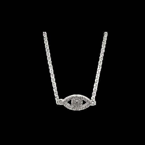 Cubic Zirconia Eye of Providence Necklace Vandenbergs Fine Jewellery Winnipeg, MB