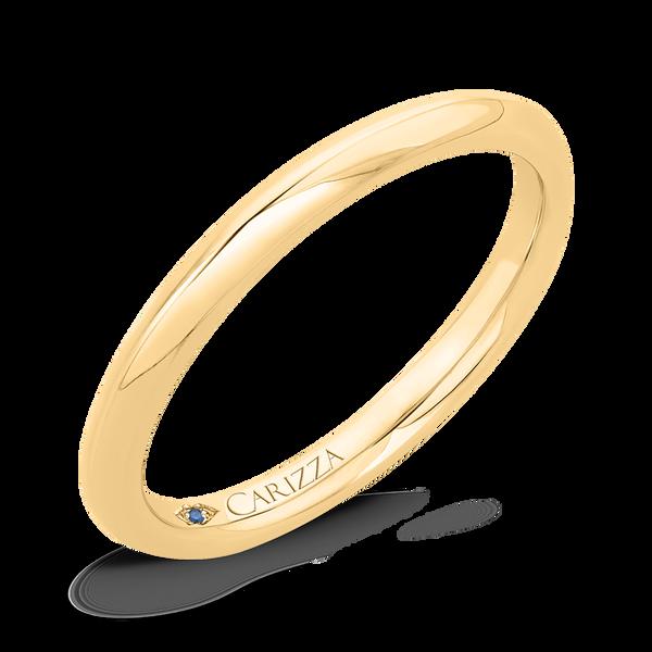 14K Yellow Gold Plain Wedding Band Vandenbergs Fine Jewellery Winnipeg, MB