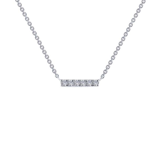 0.09 CTW Dainty Bar Necklace Vandenbergs Fine Jewellery Winnipeg, MB
