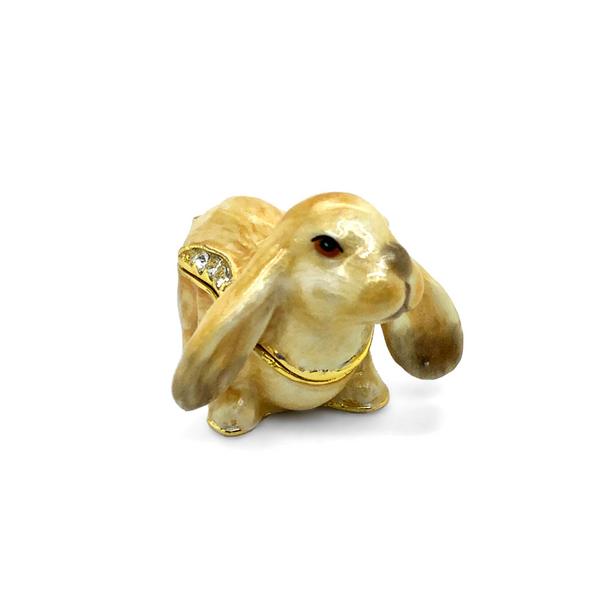 Small Bunny Trinket Box Vandenbergs Fine Jewellery Winnipeg, MB