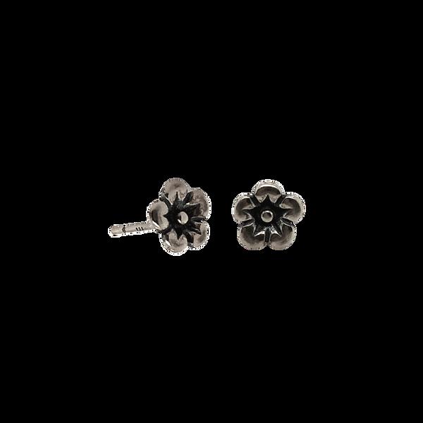 Sterling Silver Flower Studs Vandenbergs Fine Jewellery Winnipeg, MB