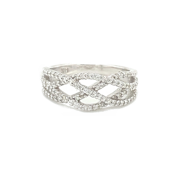 14K White Gold Diamond Fashion Ring Vandenbergs Fine Jewellery Winnipeg, MB