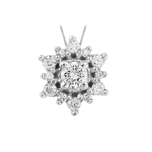 10K White Gold Diamond Necklace Vandenbergs Fine Jewellery Winnipeg, MB
