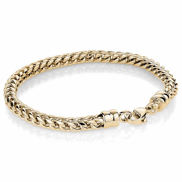 Yellow Stainless Steel Chain Bracelet Image 2 Vandenbergs Fine Jewellery Winnipeg, MB