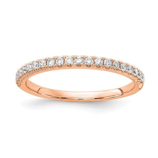 14K Rose Gold Lab Grown Diamond Band Vandenbergs Fine Jewellery Winnipeg, MB