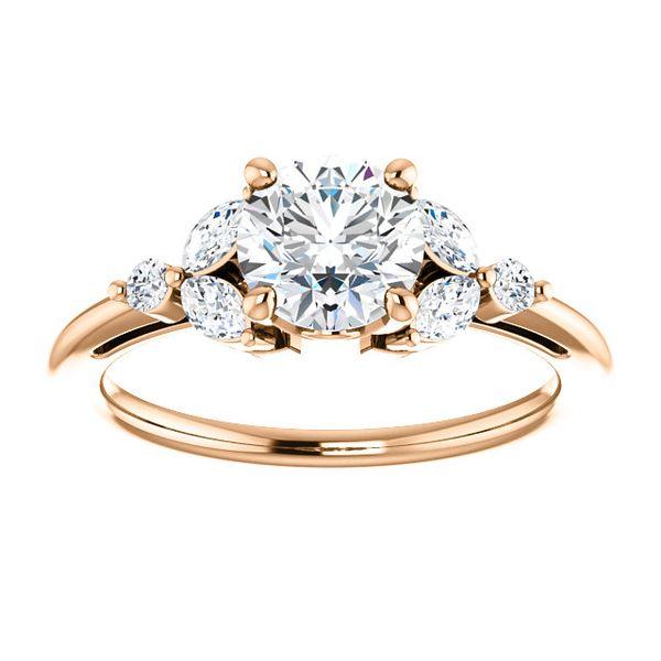 stuller engagement ring rose