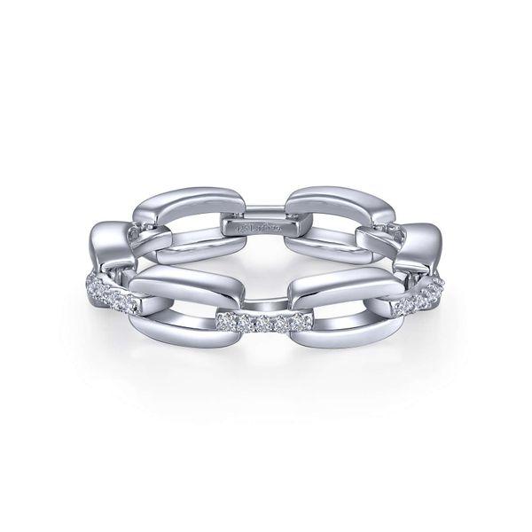 Chain Link Eternity Band Vandenbergs Fine Jewellery Winnipeg, MB
