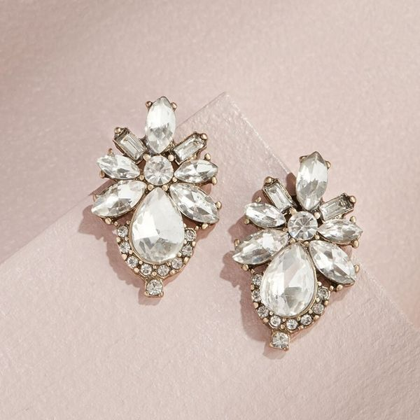 Olive and Piper Crystal Floret Studs